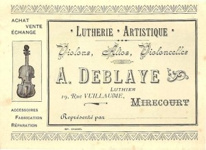 Deblaye Business Card