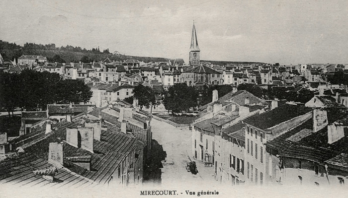 Mirecourt old photo